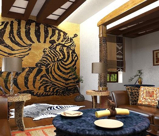 Африканский стиль - это яркость и самобытность, энергия и.